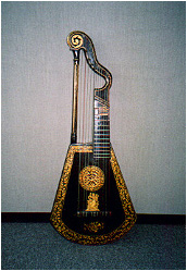 Harp Lute by Edward Light